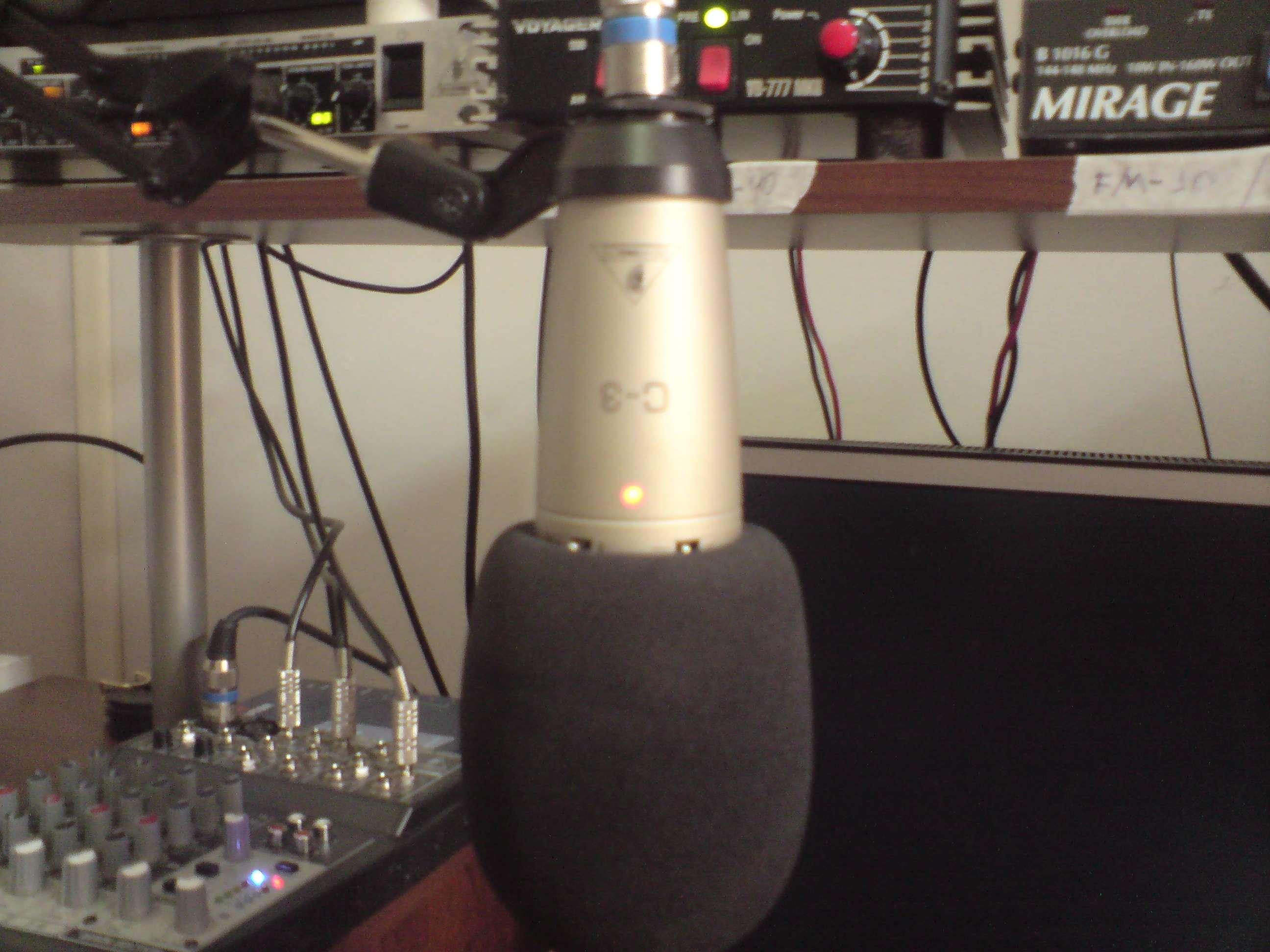 Here's the Mic that makes the Voodoo Audio!!