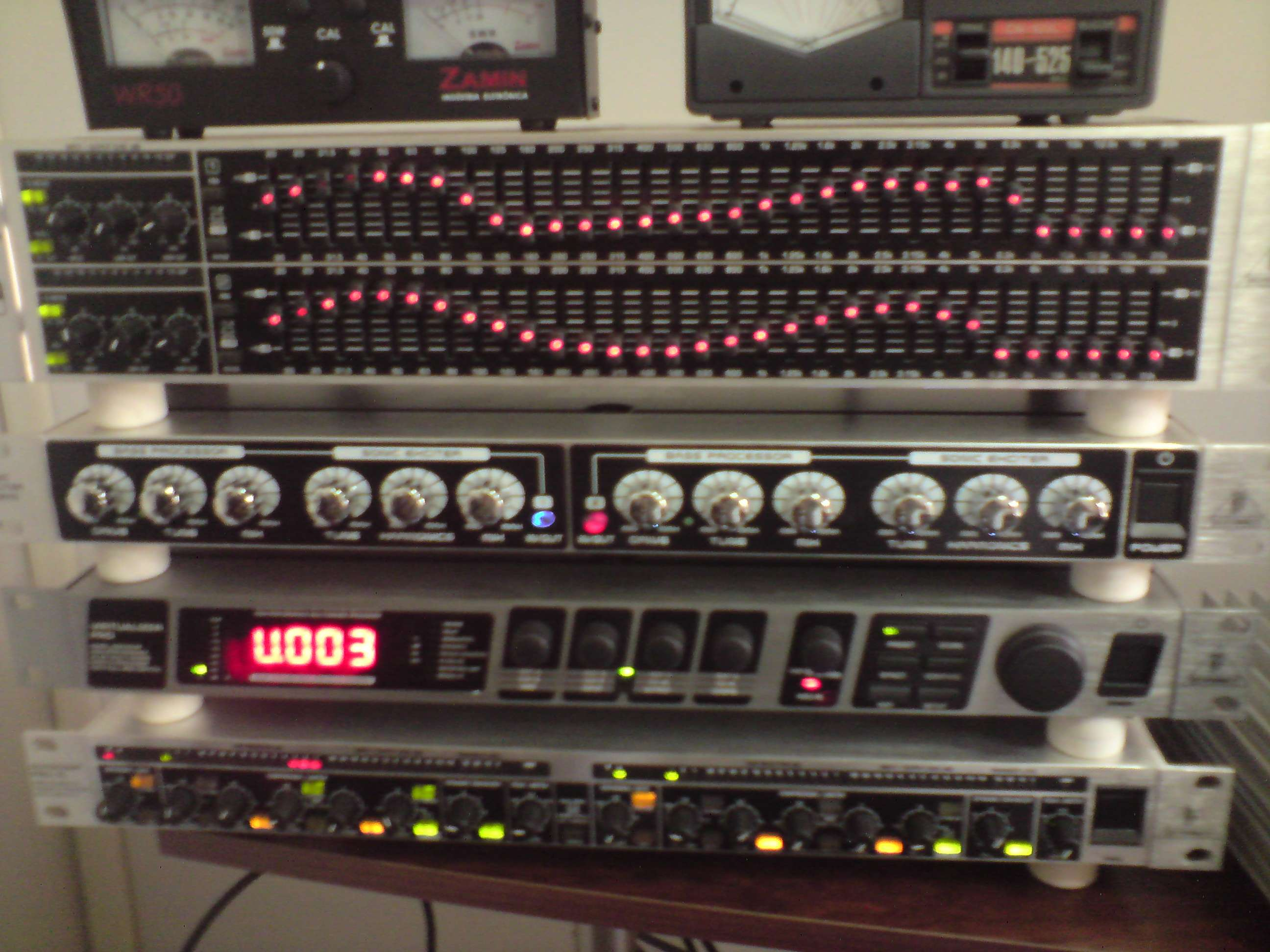 Here is the Rack that makes the Voodoo Audio!!!